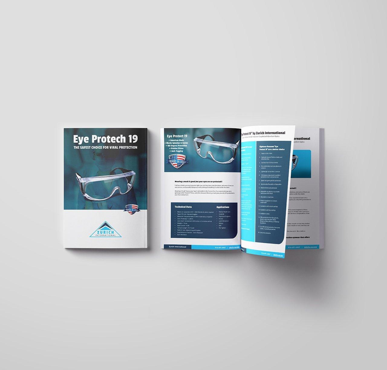 custom tech brochure