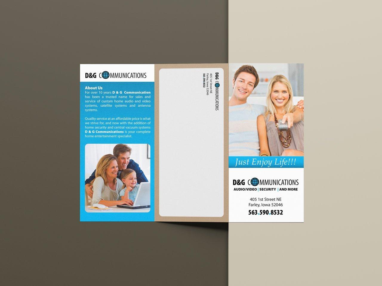 custom brochure design